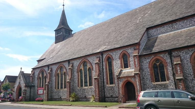 Sheringham parish church of St. Peter