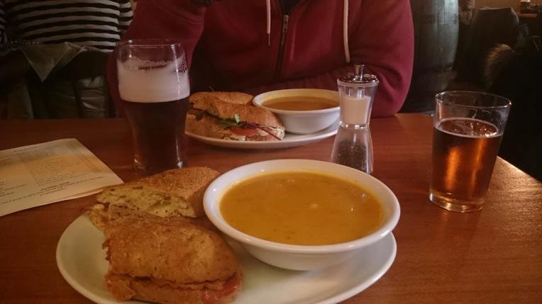 Almoço maravilha